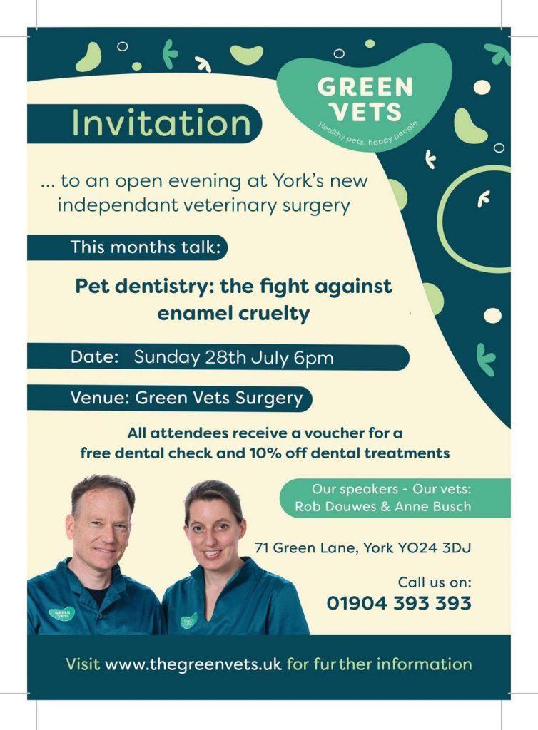 Green Vets York July talk